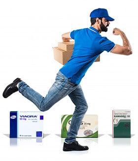 Brza i besplatna dostava Kamagra, Viagra